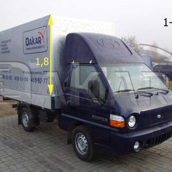 Обтекатель «Hyundai Porter» 1,8 м, модель 1-Р в Нижнем Новгороде
