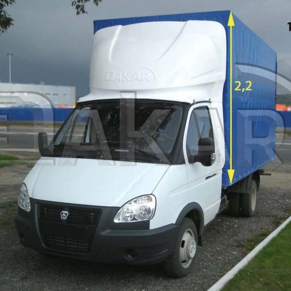 Обтекатель «GAZelle фургон»  2.2 м модель 1-м в Нижнем Новгороде