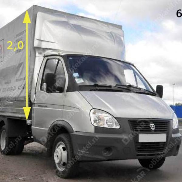 Обтекатель «GAZelle фургон» 2.0 м модель 6-е в Нижнем Новгороде
