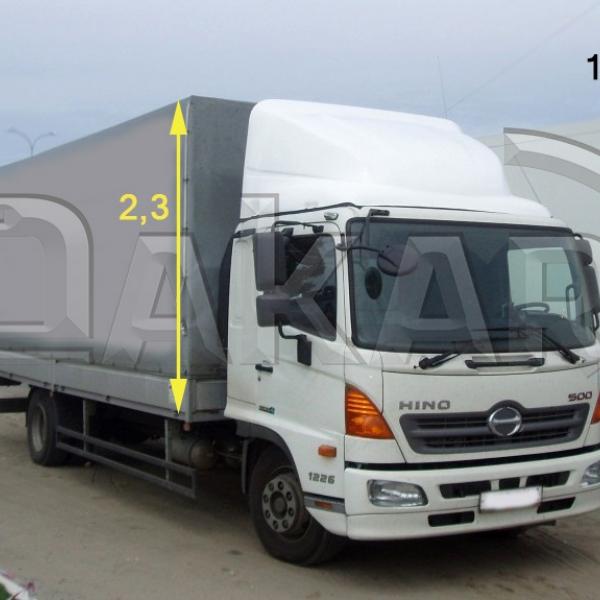 Обтекатель HINO-500 2.3м модель 19-Р в Нижнем Новгороде