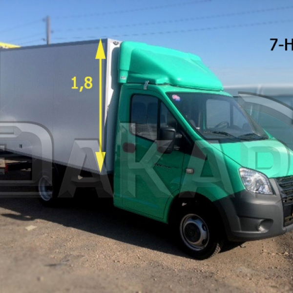 Обтекатель на GAZelle NEXT 1.8м модель 7-Нм в Нижнем Новгороде