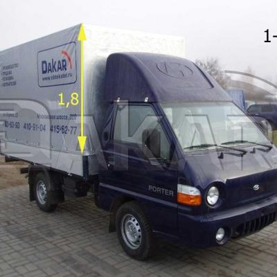 Обтекатель «Hyundai Porter» 1,8 м, модель 1-Р