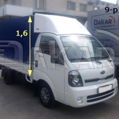 """Обтекатель """"KIA Bongo"""" 1.6 м, модель 9-Р"""