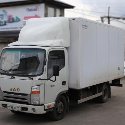 Обтекатель «JAC N56» для фургонов высотой 2.2 -2,3 м, модель 35-Р
