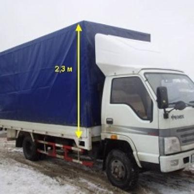 Обтекатель «BAW 1065» 2.2 м, модель 4-Р