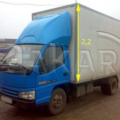 Обтекатель для грузовика JMC 2.2 м, модель 8-Р